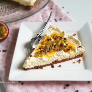 recept MonChou taart met kokos en passievruchten betty's kitchen