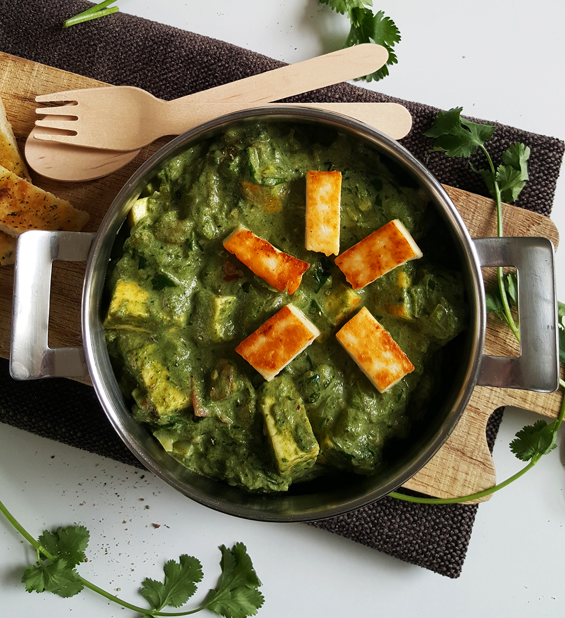 recept spinazie curry met paneer bettys kitchen