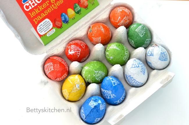 de grote paaseitjes test 2018 chocolade betty's kitchen proeft review paaseieren