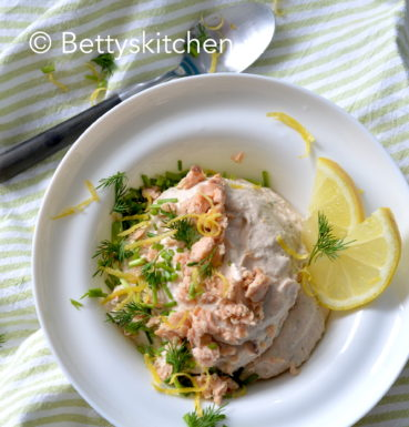 zalm mousse dip maken betty's kitchen recept