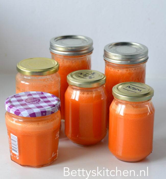 oranje detox juice met wortel bettyskitchen