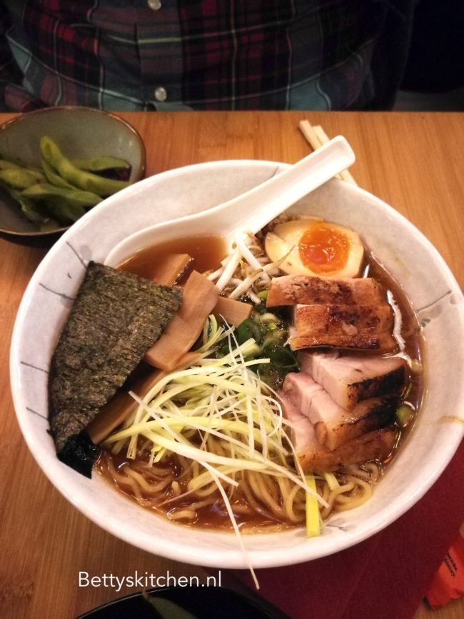 restaurant Sanju Ramen Utrecht Voorstraat review betty's kitchen