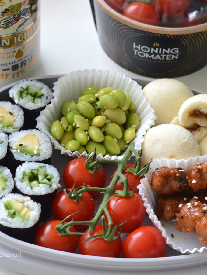 5x bento box recepten met honingtomaten lunch recept Betty's Kitchen