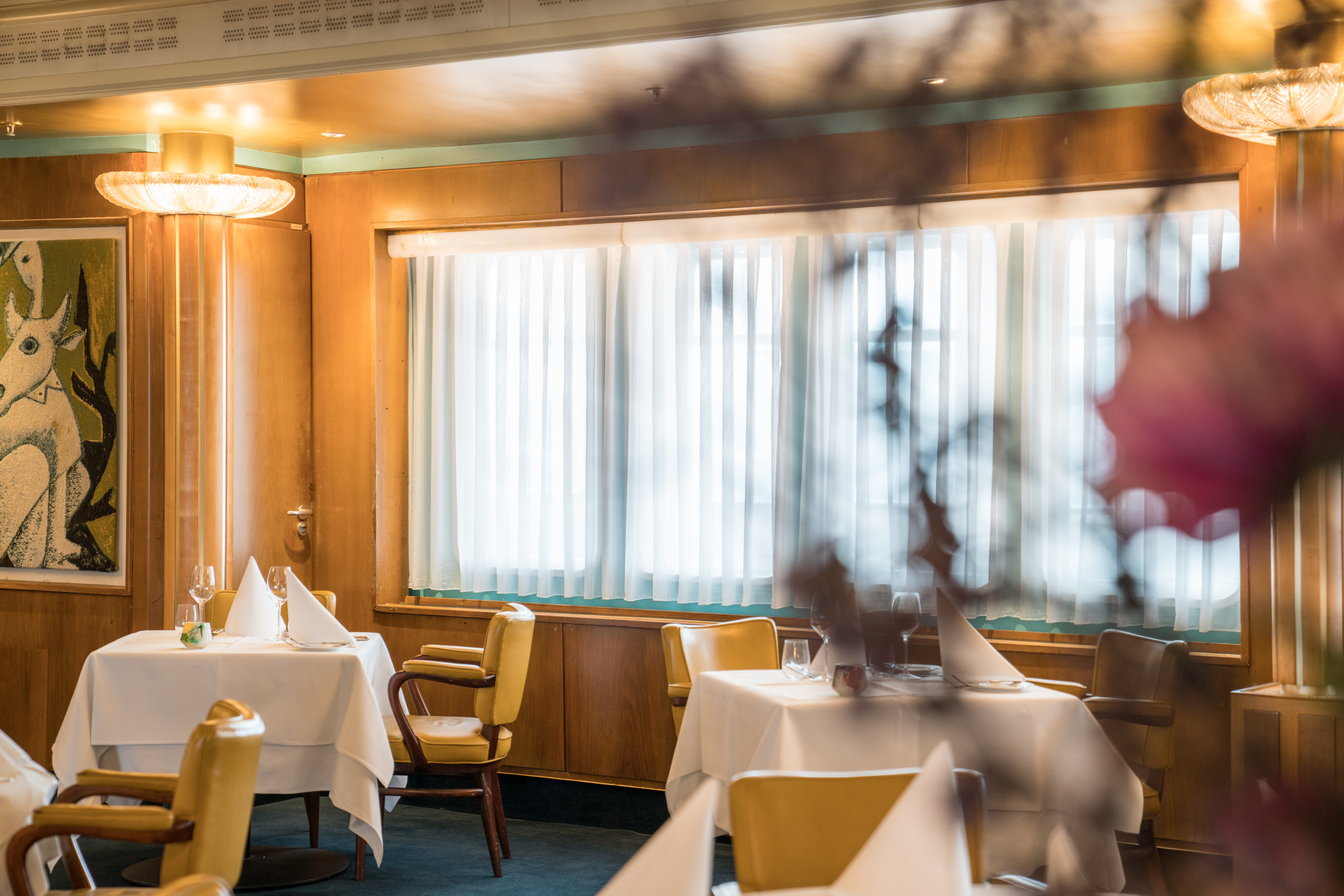 restaurant review club room ss Rotterdam