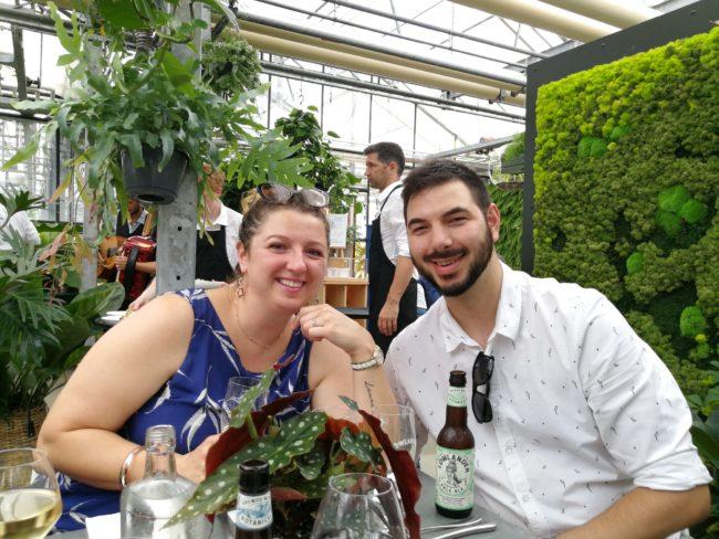 de maaltuin pop up restaurant in utrecht botanische tuinen © Bettysktichen