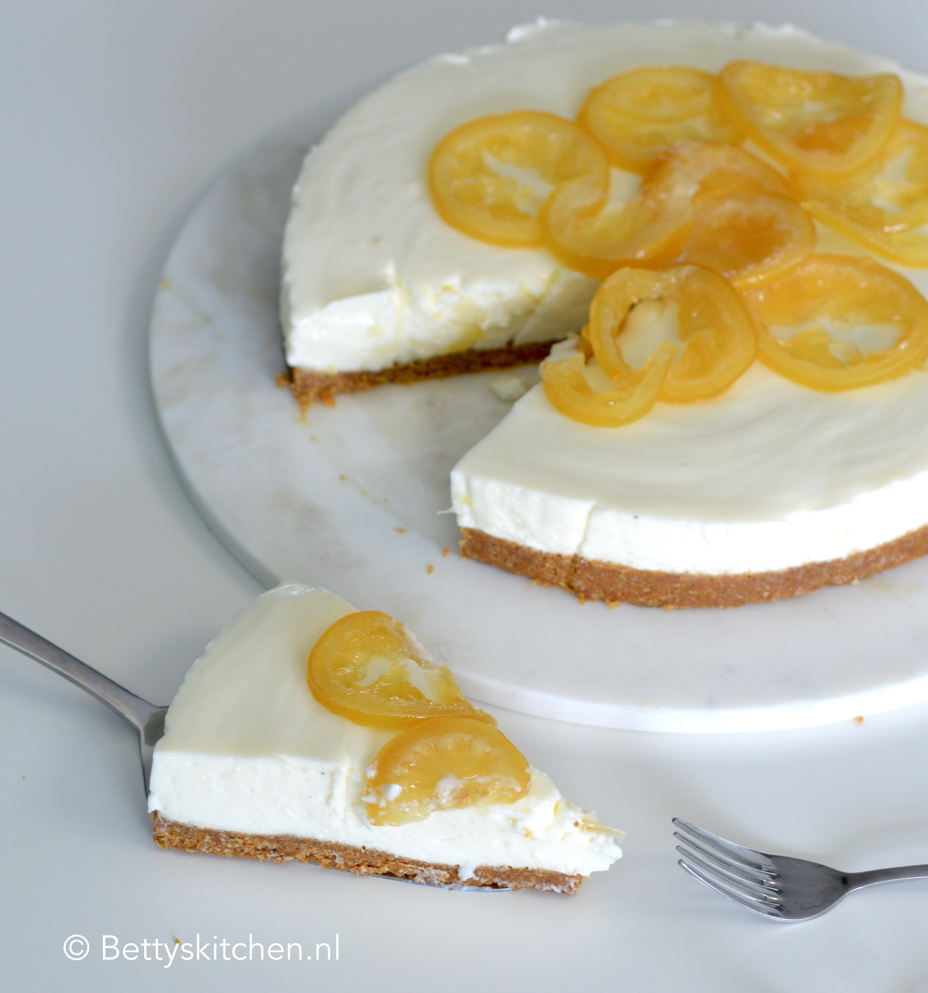 recept citroen kwarktaart © bettyskitchen