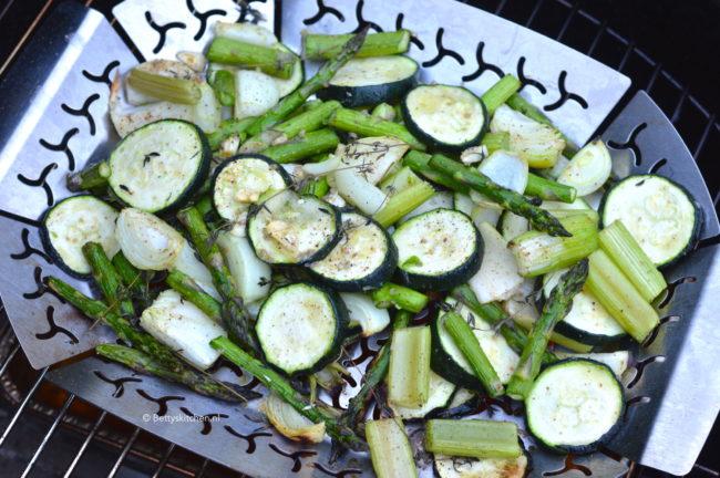 recept groene groenten op de bbq ©bettyskitchen