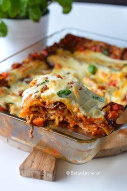 recept lasagne bolognese met bechamelsaus © bettyskitchen