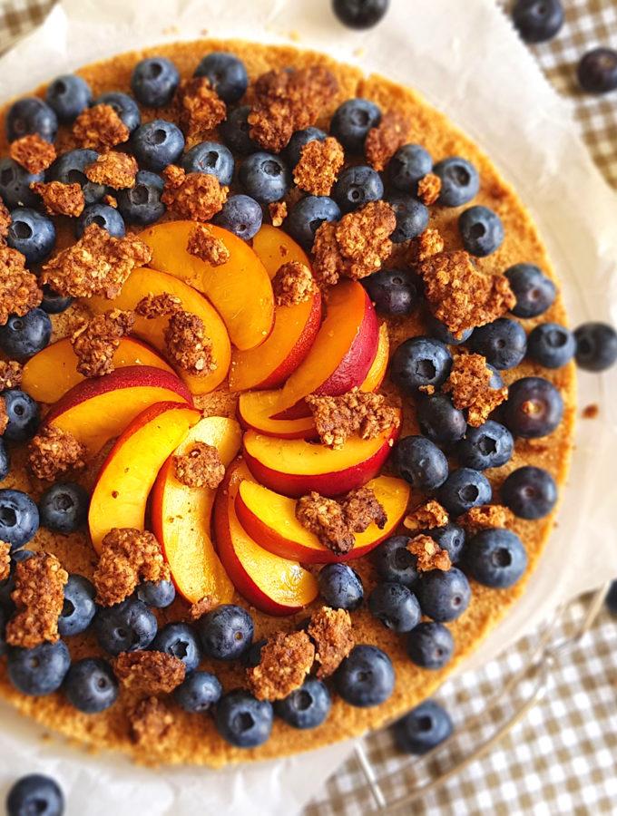 recept fruittaart met koekjesdeeg © bettyskitchen
