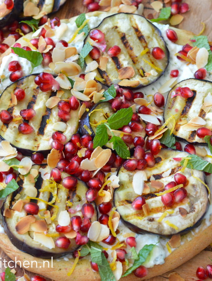 pizza met ricotta en citroen recept bettyskitchen