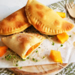 recept samosa van papaya muhamara en geitenkaas © bettyskitchen