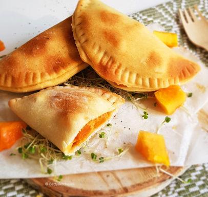 recept samosa van papaya muhamara en geitenkaas © bettyskitchen