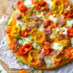 recept Oranje pizza voor Koningsdag © Betty's Kitchena