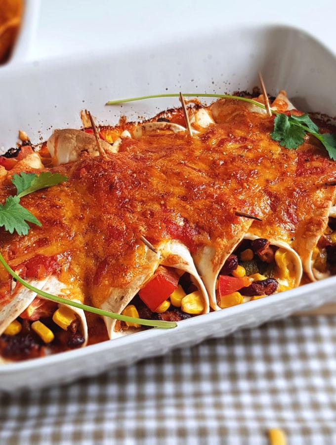 vegetarische enchiladas recept © bettys kitchen