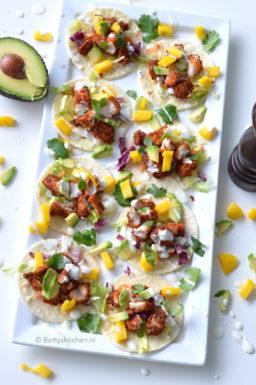 recept fish taco's met mango en avocado © Betty's Kitchen
