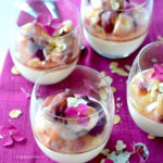 recept panna cotta met perzik en amandel © Bettys kitchen