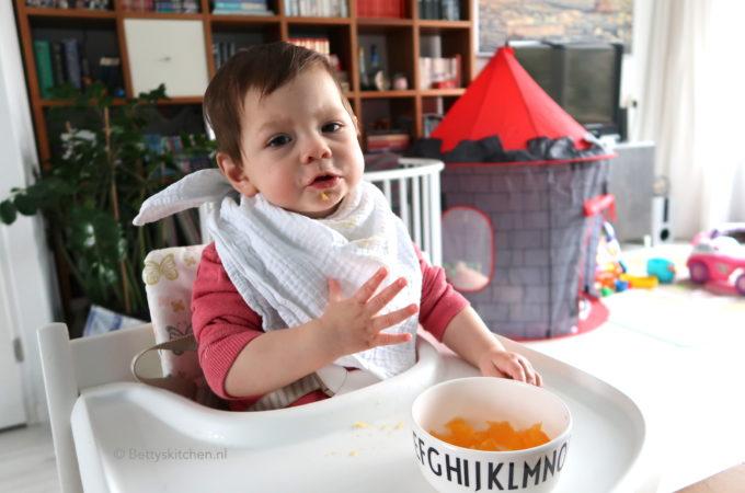voedingschema laura 10 maanden baby hapjes