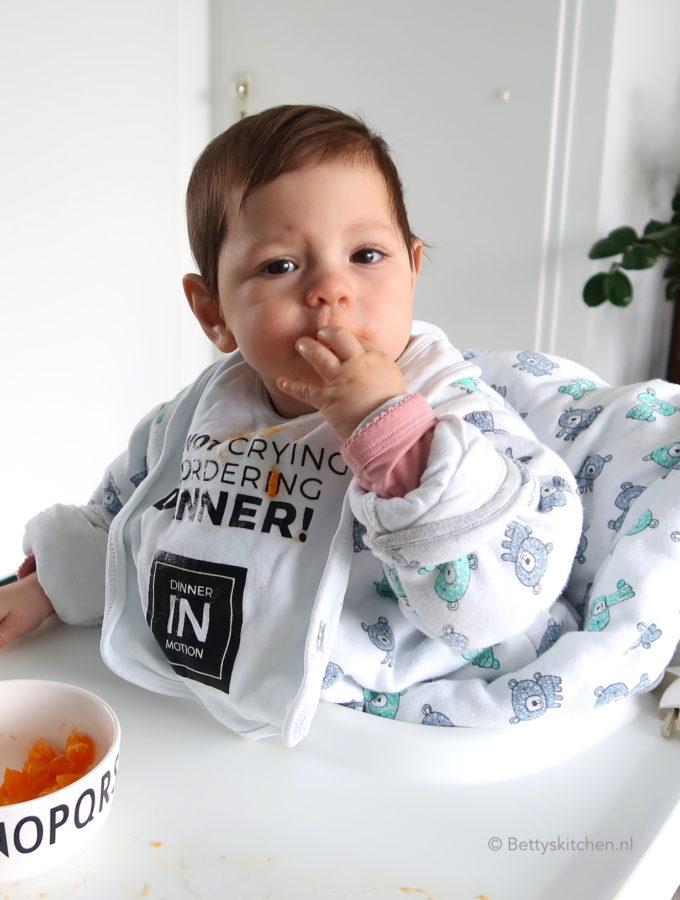 voedingschema laura 8 maanden baby hapjes