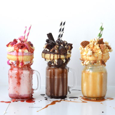 recept 3x freakshakes maken kookvideo betty's kitchen