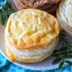 recept 3x wolkenbroodjes low carbs en glutenvrij © betty's kitchen
