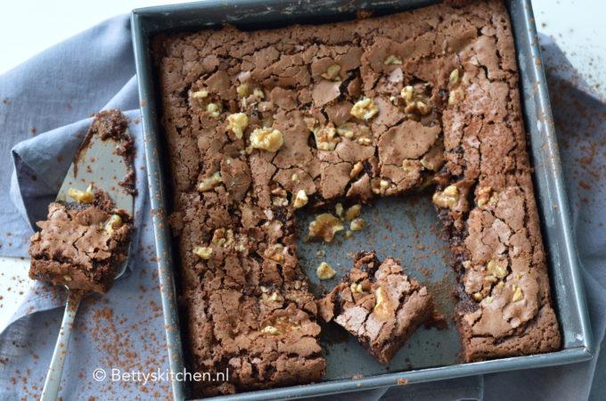 Brownies met chocolade