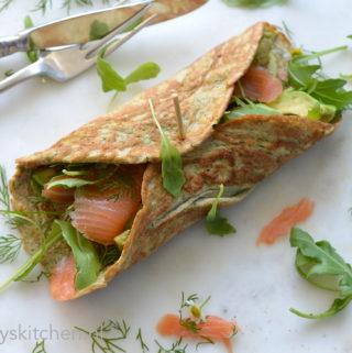 recept Ei-Wraps met zalm en dille bettys kitchen