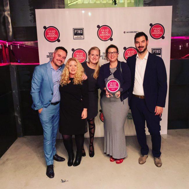 Award voor BESTE gerecht 2018
