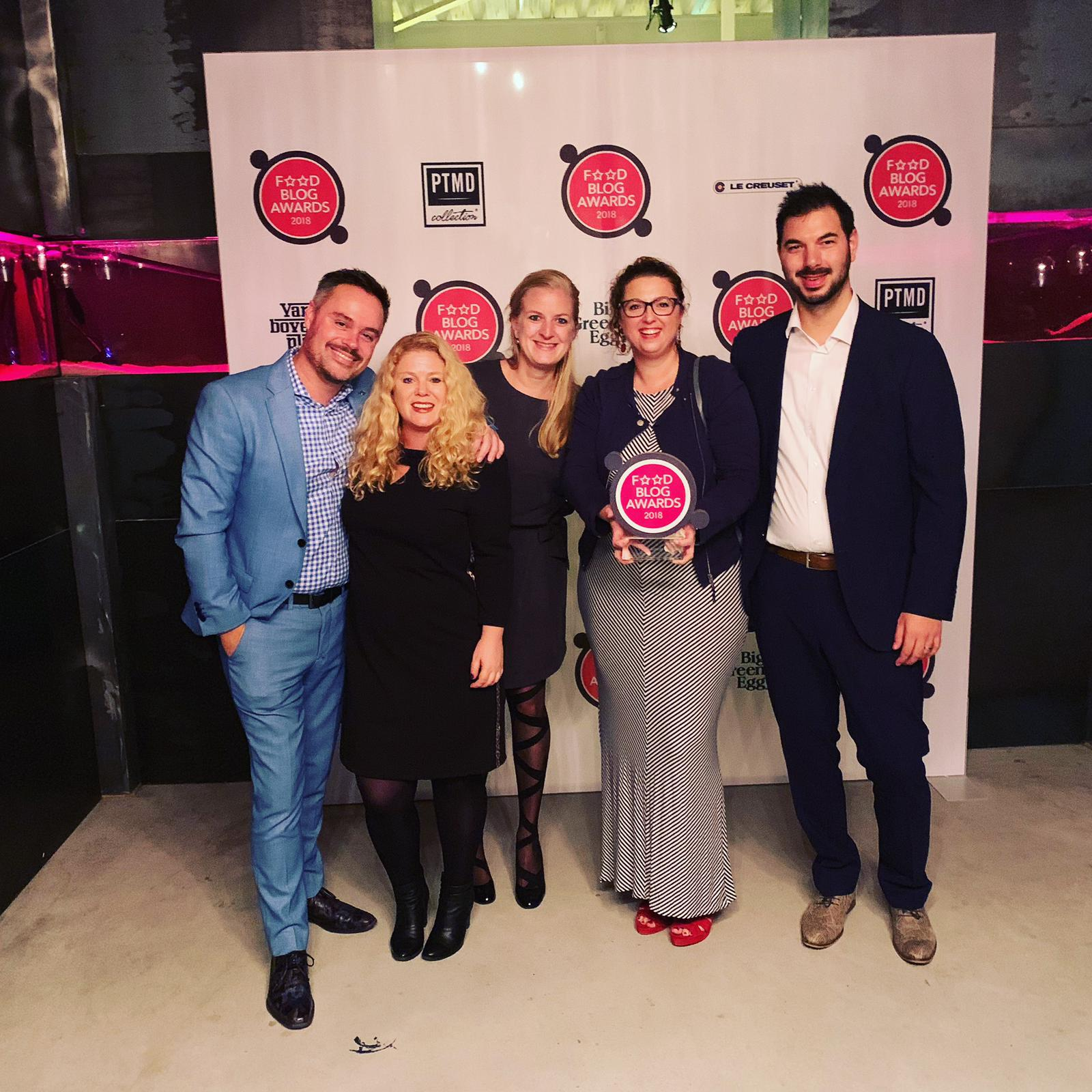 food blog awards gewonnen