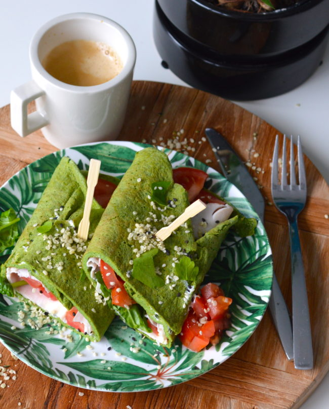 recept voor ei-wraps met spinzie en kipfilet © bettys kitchen