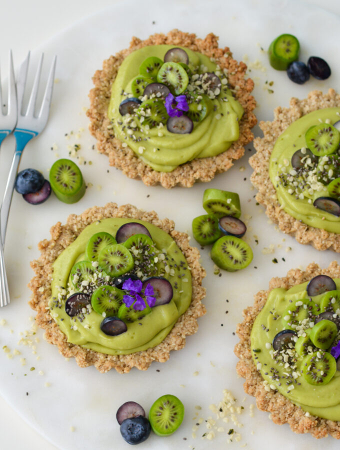 recept havermouttaartjes met avocado © bettyskitchen.nl