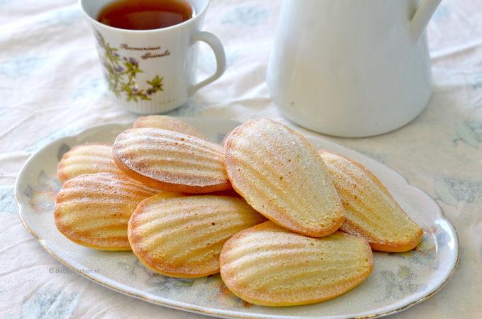 kookvideo recept madeleines maken © bettys kitchen