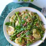 pasta met pesto maken recept © bettys kitchen