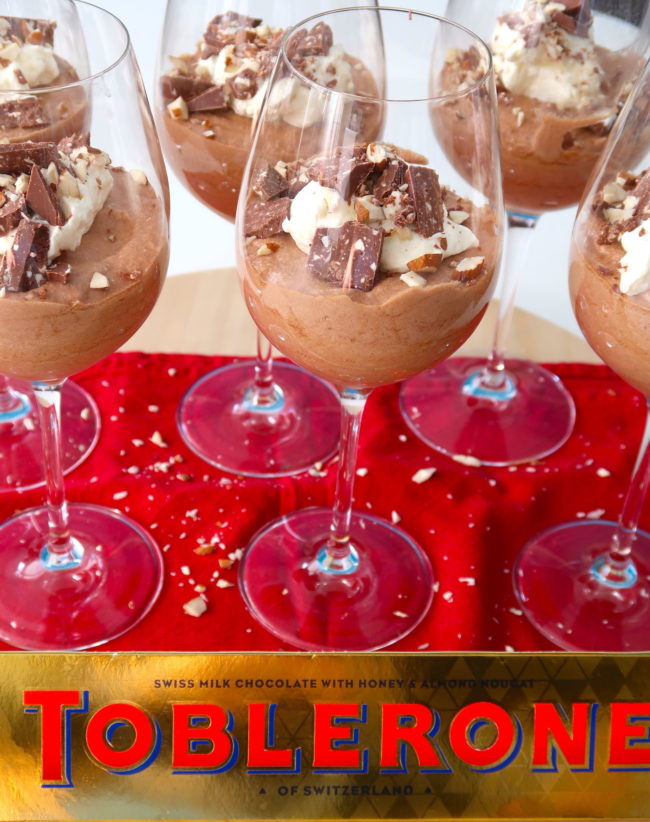 recept toblerone mousse chocolademousse © betty's kitchen