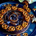 recept glutenvrije pretzel taart met chocolade © Betty's Kitchen