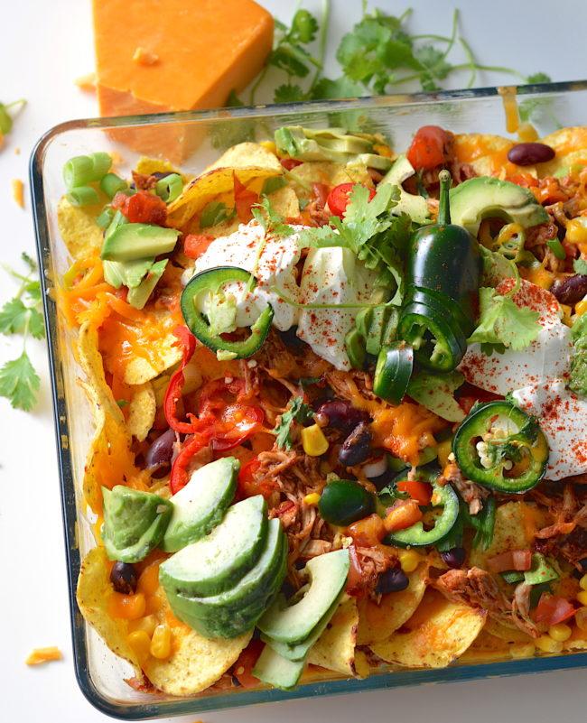 nachos met pulled chicken kookvideo recept