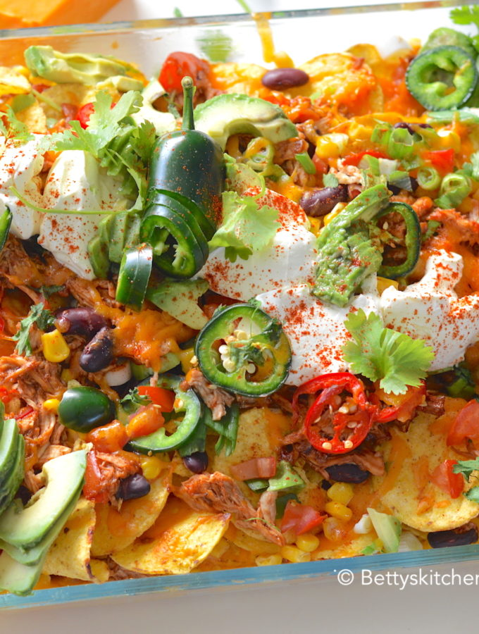 nachos met pulled chicken kookvideo recept