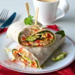 recept ontbijt burrito met gehakt en eieren © Betty's Kitchen