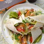 Wraps met krokante kip vegan recept © bettyskitchen.nl