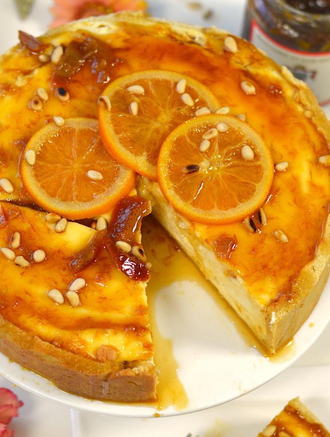 recept italiaanse ricotta taart met sinaasappel Marchesi di San Giulliano sicilia © Bettyskitchen