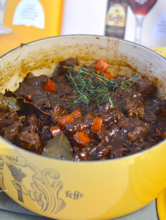 recept stoofvlees met bier en appelstroop © bettys kitchen