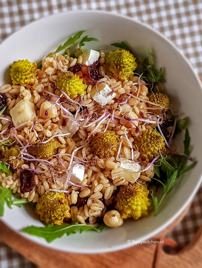 recept gort salade met brie © bettyskitchen