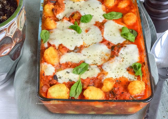 gnocchi met kip uit de oven recept © bettyskitchen kookvideo youtube