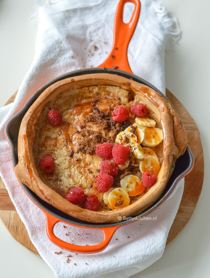 recept dutch baby pancake uit de oven maken © bettyskitchen