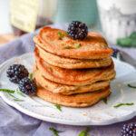 recept low carb pancakes met amandelmeel en kokosmeel © bettys kitchen