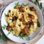 recept pasta met salieboter en paddestoelen © bettyskitchen