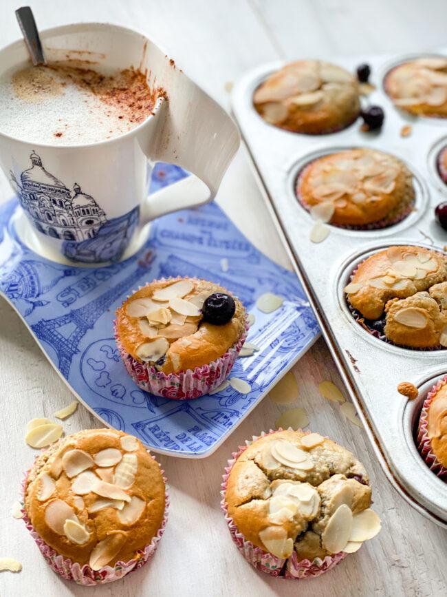 recept ontbijt muffins met blauwe bessen © bettyskitchen.nl