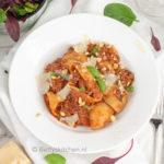 recept pasta al ragu - pasta met gehakt saus © Bettyskitchen.nl