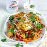 recept vegan kapsalon met jackfruit fairtrade © Bettyskitchen.nl