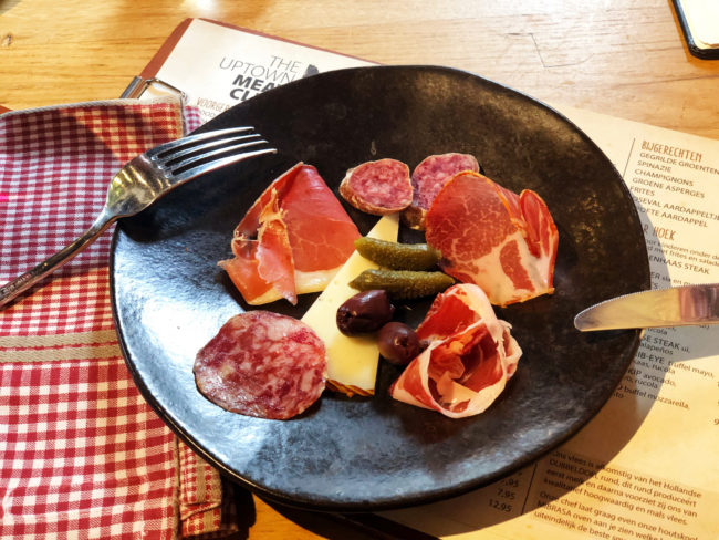 restaurant review the uptown meat club in amsterdam