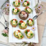 recept zoete aardappel toast met kwartelei © bettyskitchen